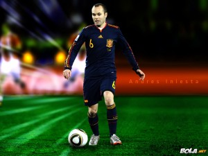 Andres Iniesta HD Wallpapers 2013