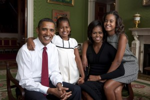 Barack Obama Photo With Family Wallpaper