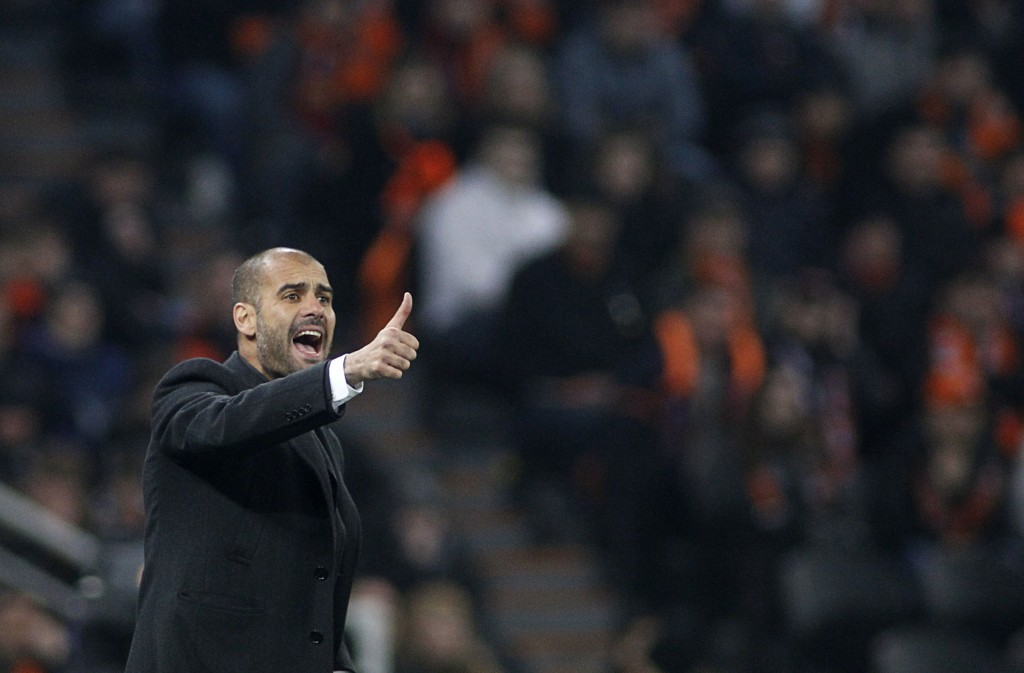 Barcelona Coach Pep Guardiola