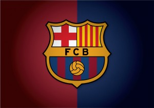 Barcelona Logo HD Wallpaper