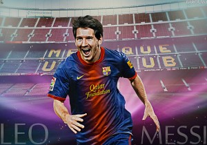 Download Wallpaper Lionel Messi Barcelona 2013