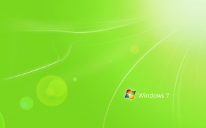 Green Windows 7 Wallpapers