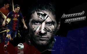 Lionel Messi 2013 FC Barcelona Wallpaper