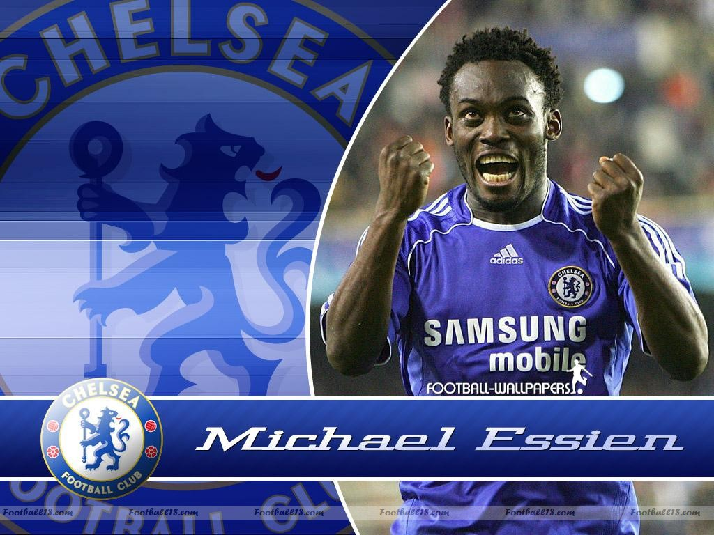Michael Essien Chelsea HD Wallpapers 2013