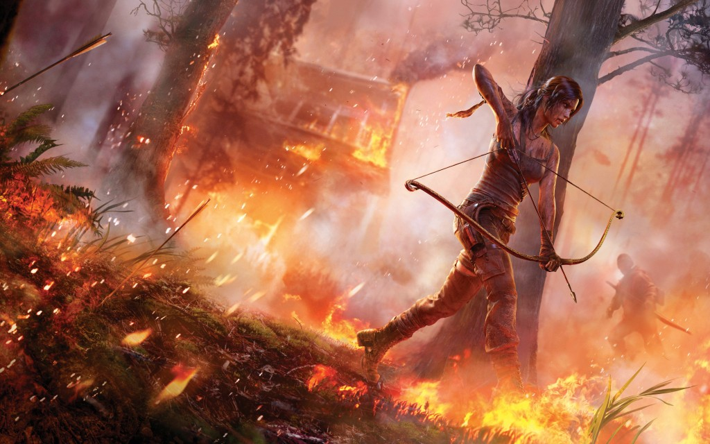 Tomb Raider 2013 Game Wallpapers