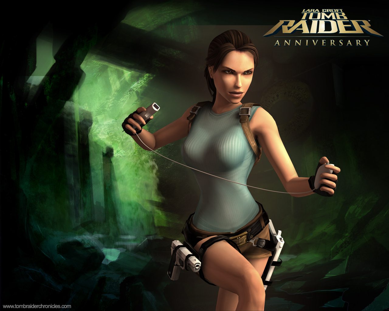 File Name   Tomb Raider Anniversary WallpapersTomb Raider Anniversary Wallpaper