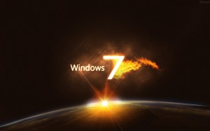 Wallpaper Windows 7 3D