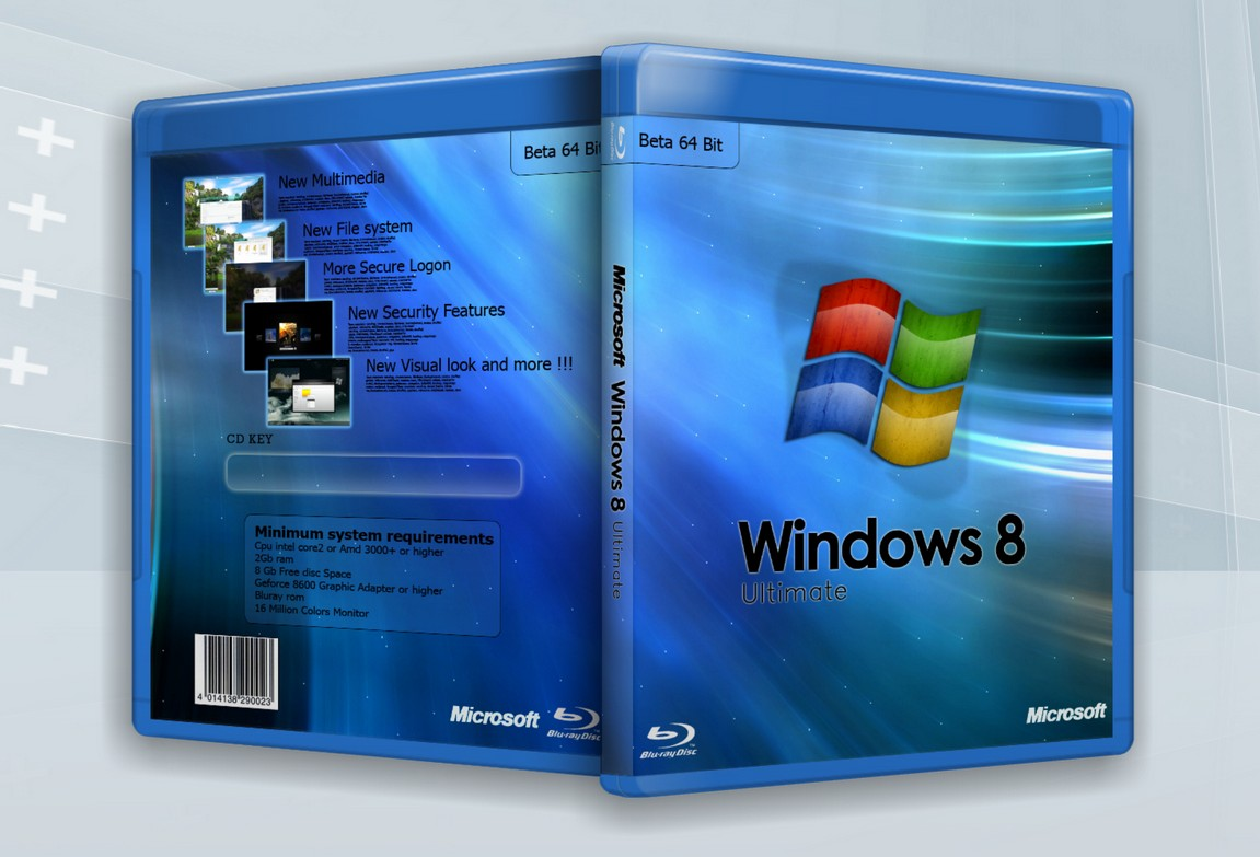 Windows 8 Pro/Ultimate|Full|Español|32-64 Bt|Activ