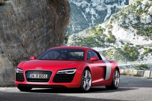 2013 Audi R8 V10 Plus Red Color