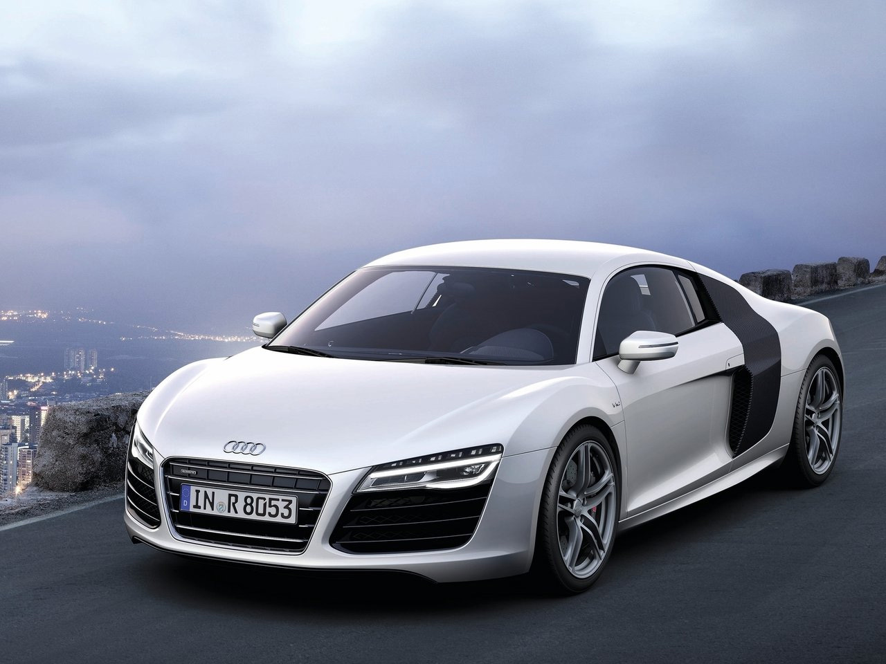 2013 audi r8 v10 silver wallpapers. Black Bedroom Furniture Sets. Home Design Ideas