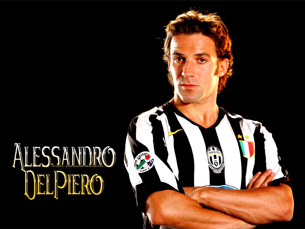 Alessandro Del Piero HD Wallpaper