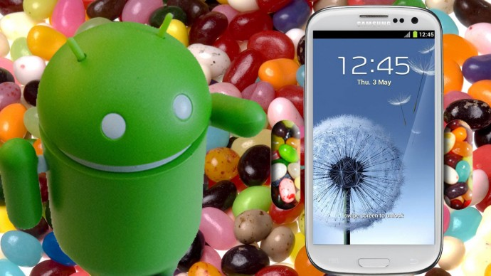 Android Jelly Bean with Samsung Galaxy S3
