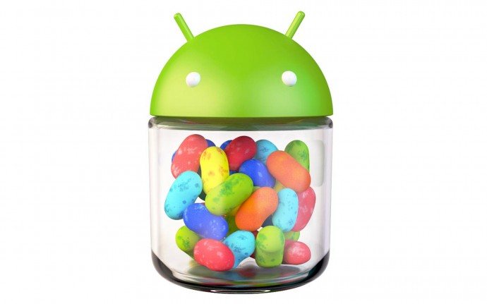 Android jelly bean 1920x1200 Logo Wallpaper