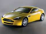 Aston Martin Vantage yellow color