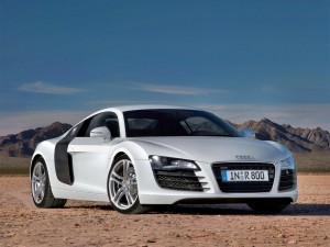 Audi R8 White Wallpapers