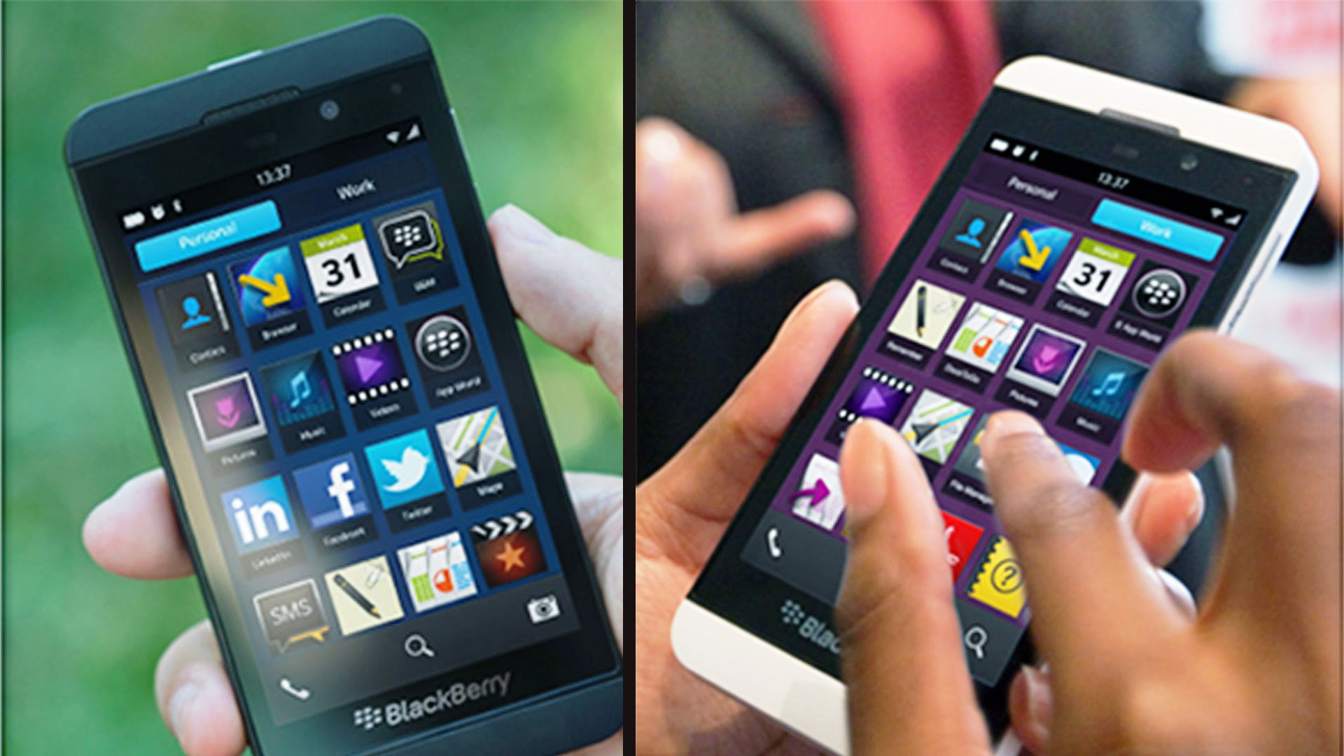 BlackBerry Z10 L-series wallpapers For Desktop