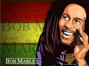 Cartoon Pictures of Bob Marley