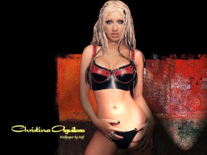 Christina Aguilera HD Wallpaper