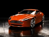 Download Aston Martin Vantage Orange