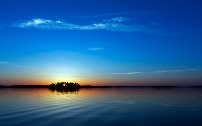 Download Blue Sunset Wallpapers