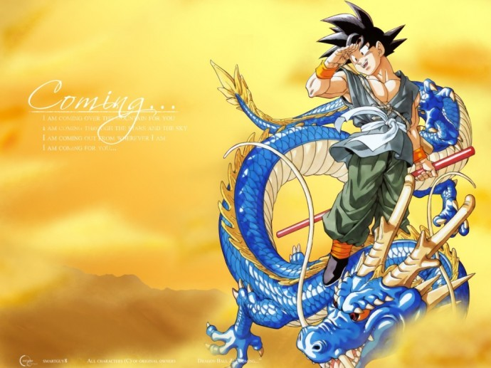 Dragon Ball Z wallpaper 1024x768