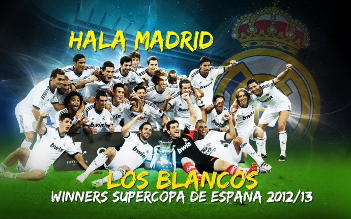 Free Real Madrid Super Cup Winners 2012/2013