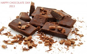 Happy Chocolate Day 2013 Wallpaper