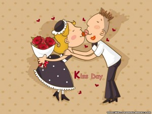 Happy kiss day 2013 hd wallpapers
