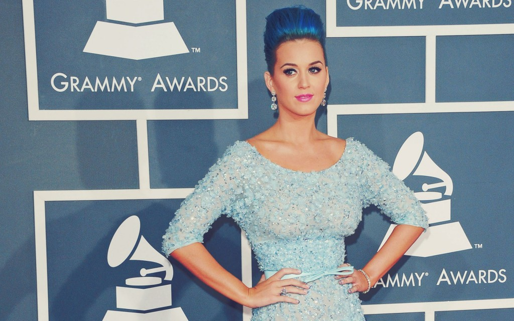 Katy Perry Grammys 2013 Red Carpet
