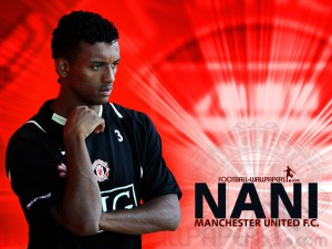 Nani Manchester United 2012-2013 HD Wallpaper