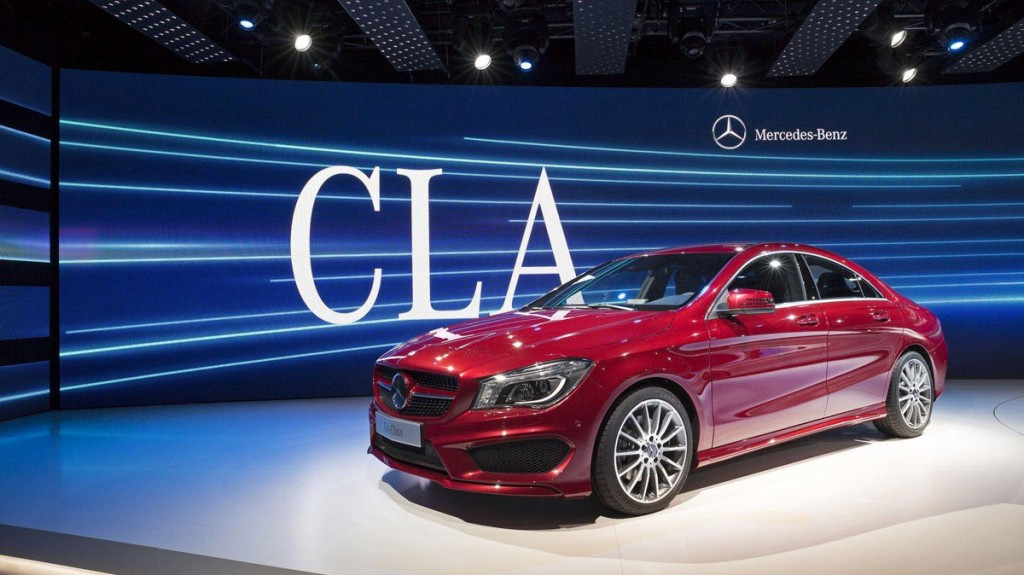 New Mercedes CLA Unveiled HD Wallpapers