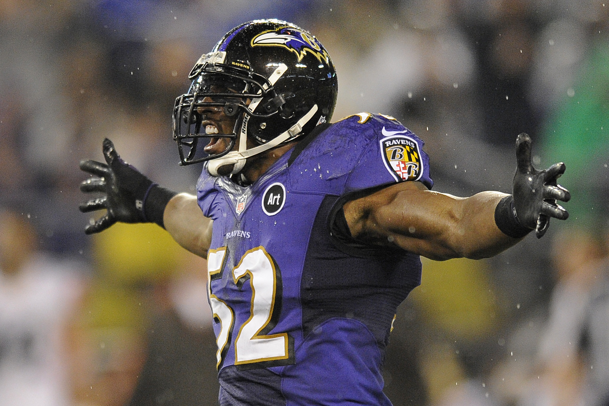 Baltimore Ravens Ray Lewis Quotes: Craziest NFL Face Masks Of
