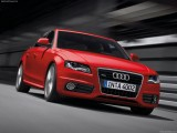 Red Audi A4 Quattro Wallpaper