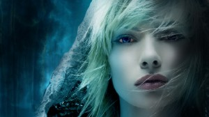 Scarf And Blue Eyes HD Wallpaper