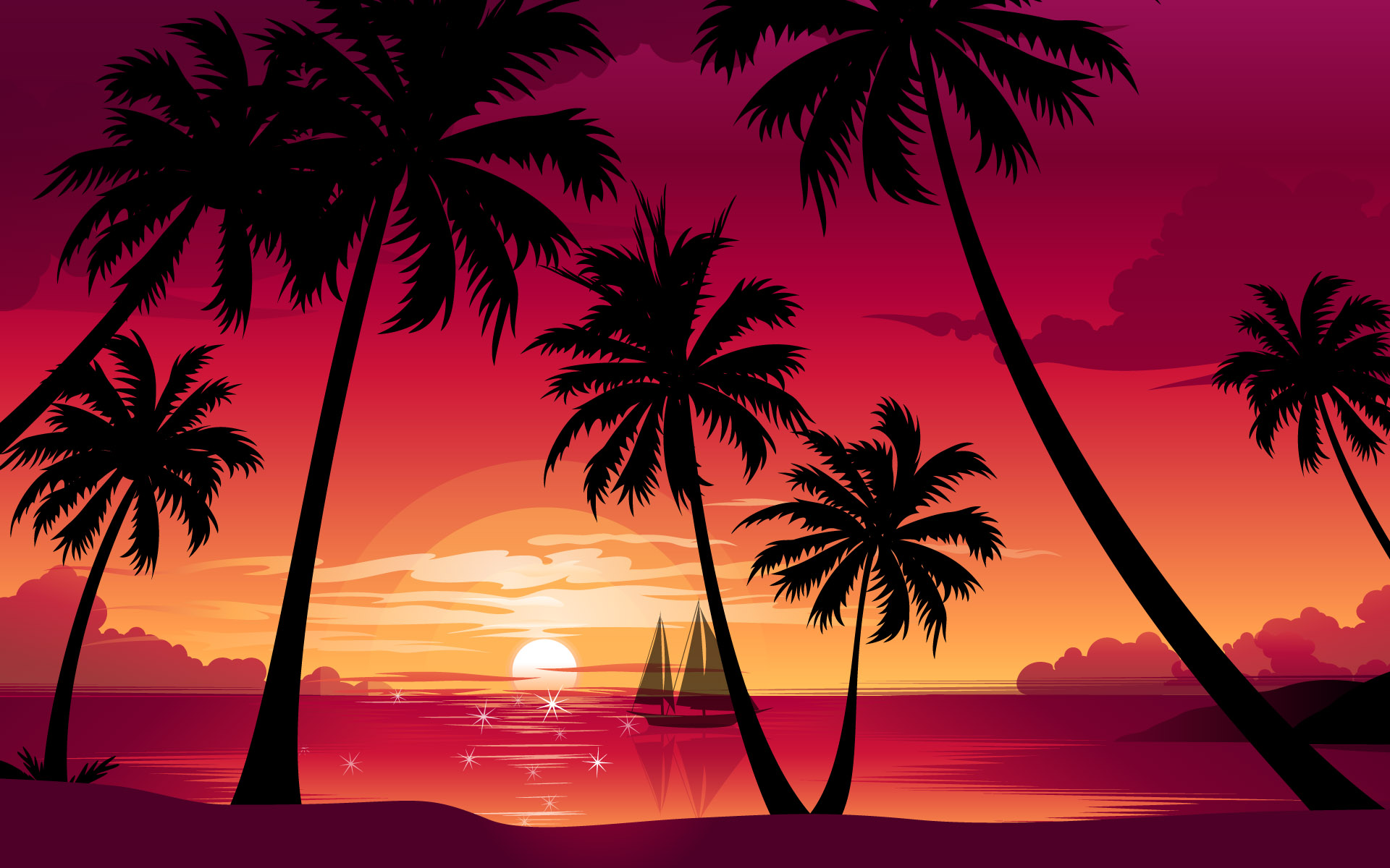 Palm Trees Wallpaper