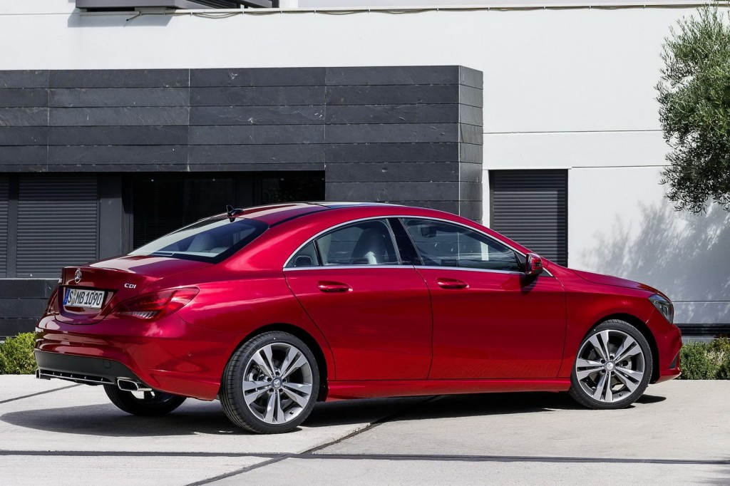 The New Mercedes-Benz CLA Wallpapers