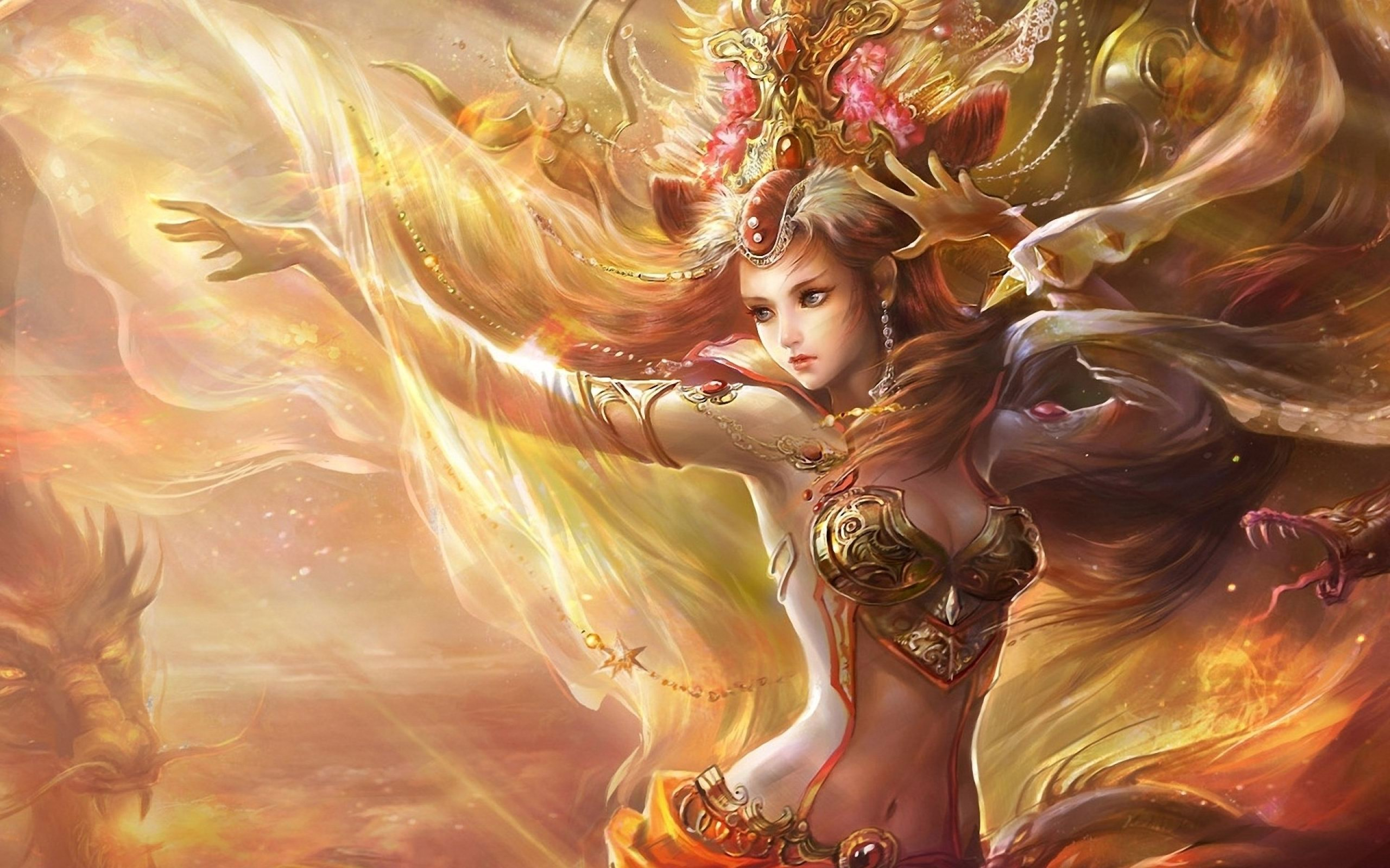 Women Fantasy Art Artwork HD Wallpaper For Desktop