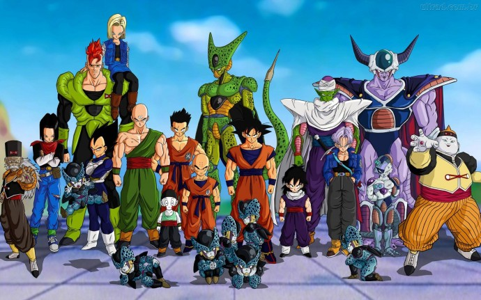 free Dragon Ball Z hd wallpaper 1920x1200