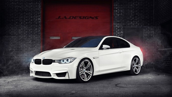 free download BMW M3 white color Wallpaper 1920x1080