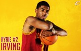 free download Kyrie Irving yellow color 1440x900