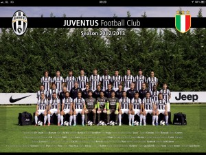 juventus squad 2012-2013 HD Wallpaper