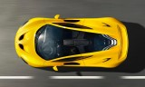 mclaren p1 hypercar yellow color