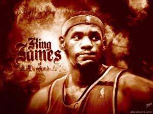 lebron james 2013 HD Wallpaper