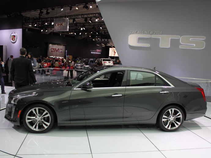 2014 Cadillac CTS Wallpaper HD Wide