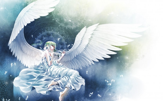 Anime Angel Background