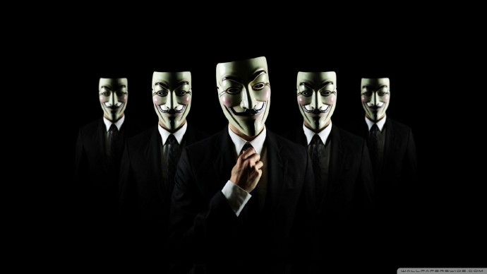 Anonymous Wallpaper HD 1920x1080