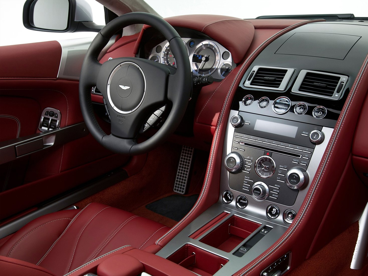 My jaguar experience 21 balance and perspective for Aston martin db9 interior