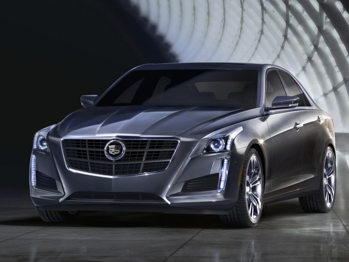 Cadillac CTS 2014 Wallpaper HD 1600x1200