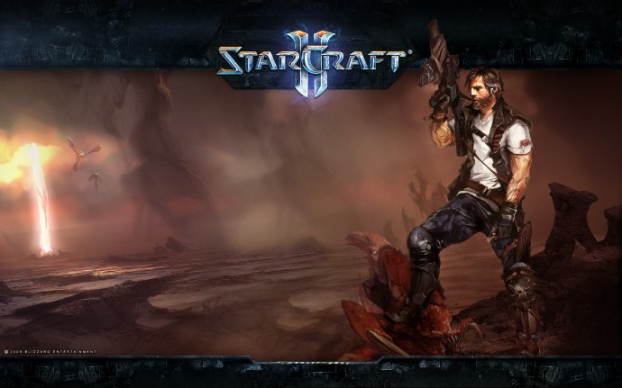 Download Starcraft 2 Game Wallpaper HD