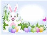 Free Easter Bunny Wallpaper HD 1024x768
